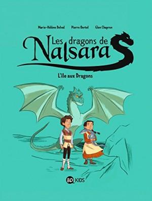 """Afficher """"Les dragons de Nalsara n° tome 1 L'île aux Dragons"""""""