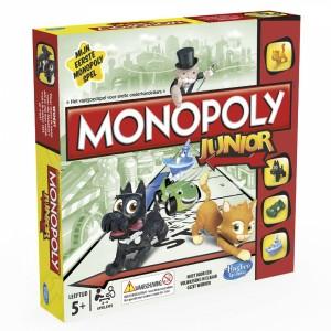 Couverture de Monopoly Junior : Mon premier monopoly