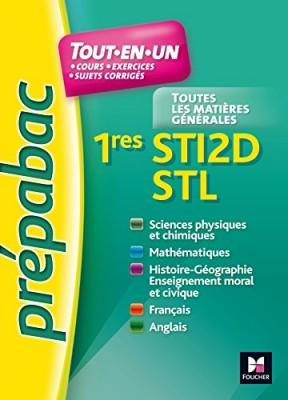 """Afficher """"Tout-en-un 1res STI2D, STL"""""""