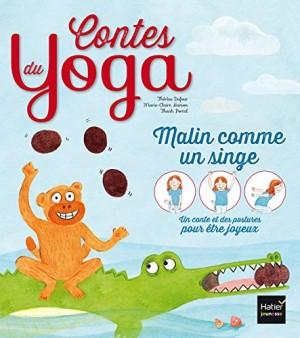"""Afficher """"Contes du yoga Malin comme un singe"""""""