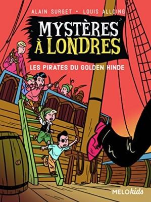 """Afficher """"Mystères à Londres - Les pirates du Golden Hinde"""""""