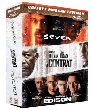 """Afficher """"Morgan Freeman : Seven + Edison + Le contrat"""""""