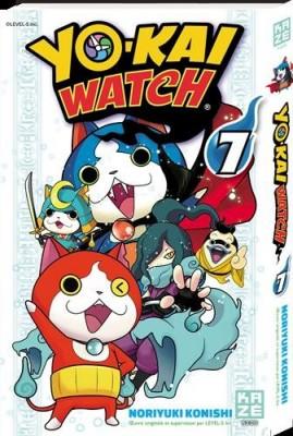 """Afficher """"Yo-kai watch n° 7"""""""