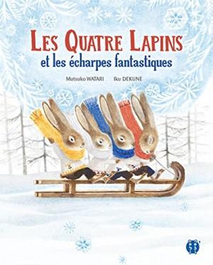"""Afficher """"Les quatre lapins et les écharpes fantastiques"""""""