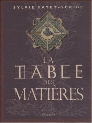 """Afficher """"La Table des matières"""""""