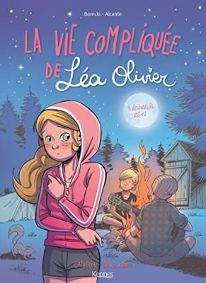 """Afficher """"La vie compliquée de Léa Olivier n° 5 Ecureuil rôti"""""""