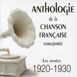 """Afficher """"Anthologie de chanson française enregistrée"""""""