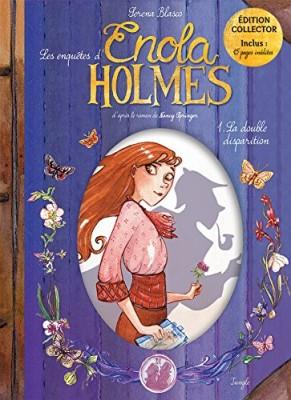 vignette de 'Les enquêtes d'Enola Holmes n° 1<br /> La double disparition (Serena Blasco)'