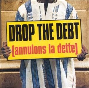 """Afficher """"Drop the debt"""""""