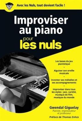 """Afficher """"Improviser au piano pour les nuls"""""""