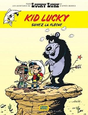 """Afficher """"Les aventures de Kid Lucky d'après Morris n° 04<br /> Suivez la flèche"""""""