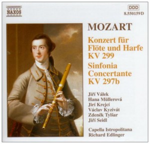 "Afficher ""Concerto for flute et harp et Sinfonia concertante"""