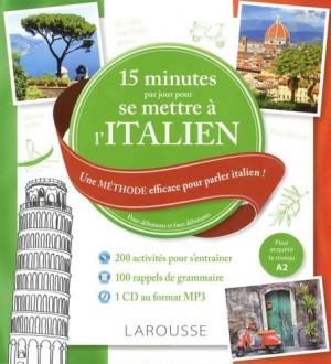 """Afficher """"15 minutes par jour pour se remettre à l'italien"""""""