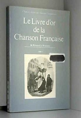"""Afficher """"Le livre d'or de la chanson française"""""""