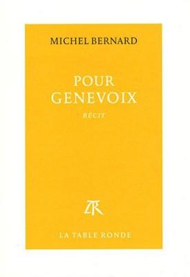 """Afficher """"Pour Genevoix"""""""