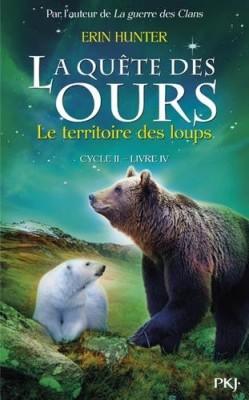 """Afficher """"Quête des ours, cycle 2 (La) n° 4 Territoire des loups (Le)"""""""