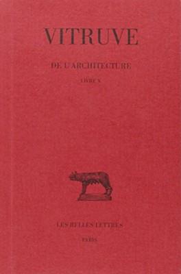 """Afficher """"De l'architecture n° 10De l'architecture : Livre X"""""""