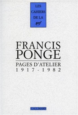 "Afficher ""Pages d'atelier, 1917-1982"""