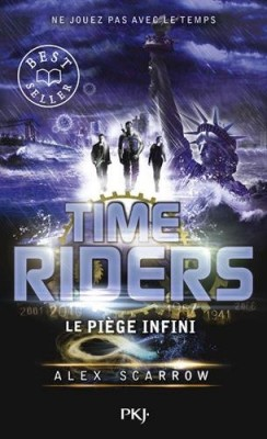 """Afficher """"Time riders n° 9 Le piège infini"""""""