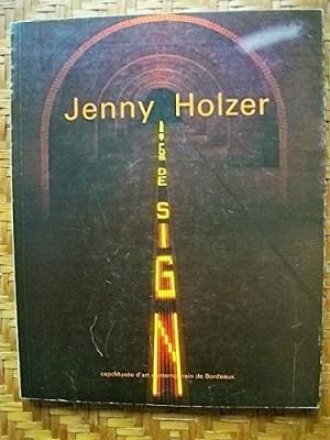 """Afficher """"Jenny Holzer OH"""""""