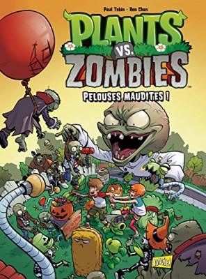 """Afficher """"Plants vs zombies n° 8 Pelouses maudites !"""""""