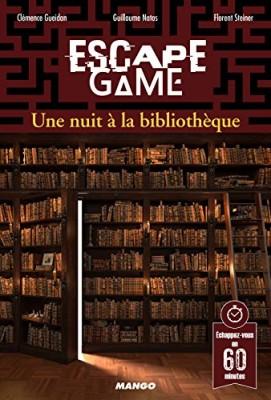 vignette de 'Escape game<br /> Une nuit à la bibliothèque (Clémence Gueidan)'