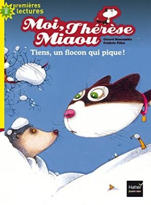 """Afficher """"Moi, Thérèse Miaou n° 7 Tiens, un flocon qui pique !"""""""