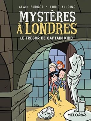 """Afficher """"Mystères à Londres n° 3 Trésor de Captain Kidd (Le)"""""""