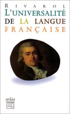 """Afficher """"L'universalité de la langue française"""""""