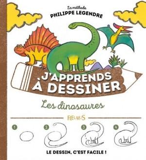 """Afficher """"J'apprends à dessiner n° 9 Les dinosaures"""""""