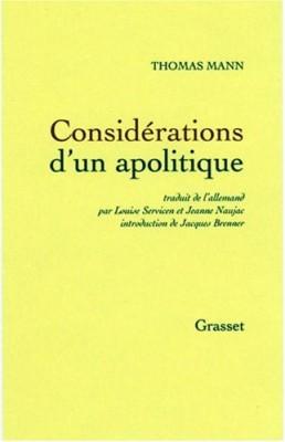 """Afficher """"Considérations d'un apolitique"""""""