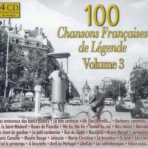 """Afficher """"100 Chansons françaises de légende, vol. 3"""""""