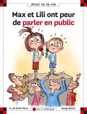 """Afficher """"Max et Lili n° 117 Max et Lili ont peur de parler en public"""""""
