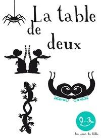 """Afficher """"La table de deux"""""""