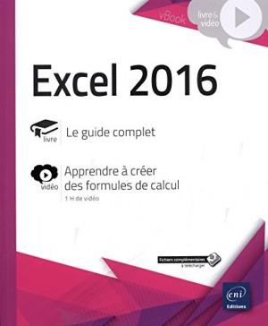 """Afficher """"Excel 2016"""""""