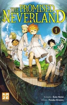 vignette de 'The Promised Neverland - série en cours n° 1<br /> Grace Field House (Posuka Demizu)'