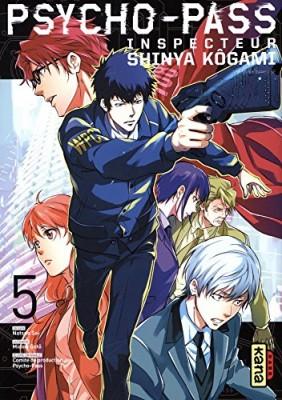 "Afficher ""Psycho-Pass - Inspecteur Shinya Kôgami n° Tome 5"""