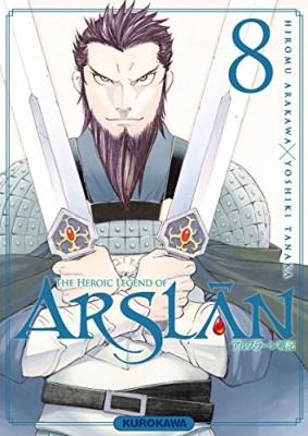 "Afficher ""The heroic legend of Arslân n° 08"""