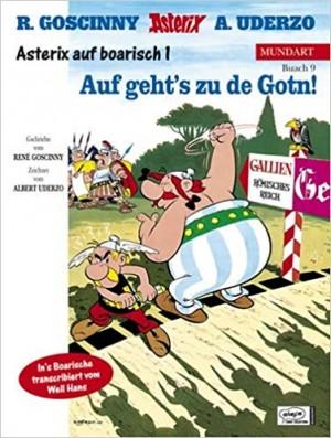 """Afficher """"Asterix n° Buach 9 Auf geht's zu de Gotn!"""""""
