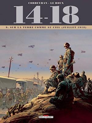 """Afficher """"14-18 n° 9 Sur la terre comme au ciel (juillet 1918)"""""""