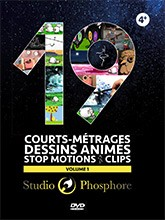 "Afficher ""19 courts métrages - dessins animés - stop motions - clips"""