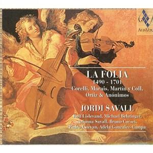 "Afficher ""La Folia, 1490-1701"""