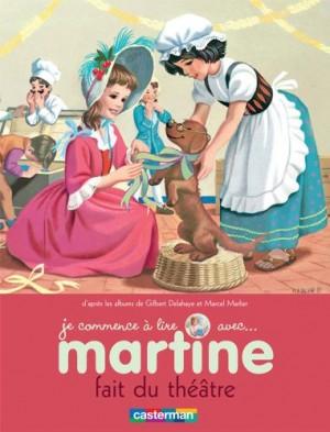 """Afficher """"Je commence à lire avec ... n° 8 Martine fait du théâtre"""""""