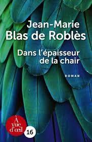 vignette de 'Dans l'épaisseur de la chair (Jean-Marie Blas de Roblès)'