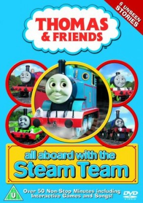 """Afficher """"Thomas & Friends All aboard with the Steam Team"""""""