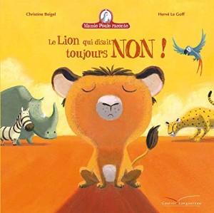 """Afficher """"Mamie Poule raconte Le lion qui disait toujours non !"""""""