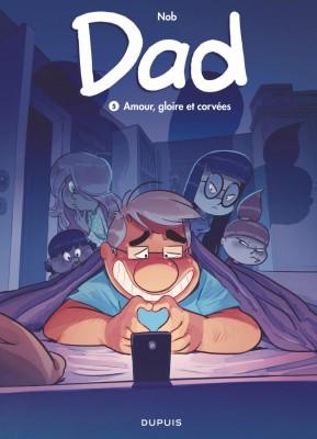 vignette de 'Dad n° 5<br /> Amour, gloire et corvées (Nob)'