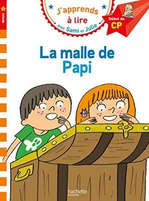 """Afficher """"J'apprends à lire-Sami & Julie La malle de Papi"""""""