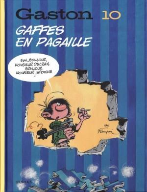 "Afficher ""Gaston n° Tome 10 Gaffes en pagaille"""