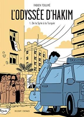 vignette de 'Odyssée d'Hakim (L')<br /> De la Syrie à la Turquie (Fabien Toulmé)'